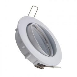 Support Spot Rond Orientable pour Ampoule GU10/GU5.3