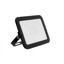 Projecteur LED Extra-Plat Crystal 20W Noir