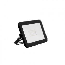 Projecteur LED Extra-Plat Crystal 10W Noir