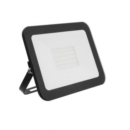 Projecteur LED Extra-Plat Crystal 30W Noir