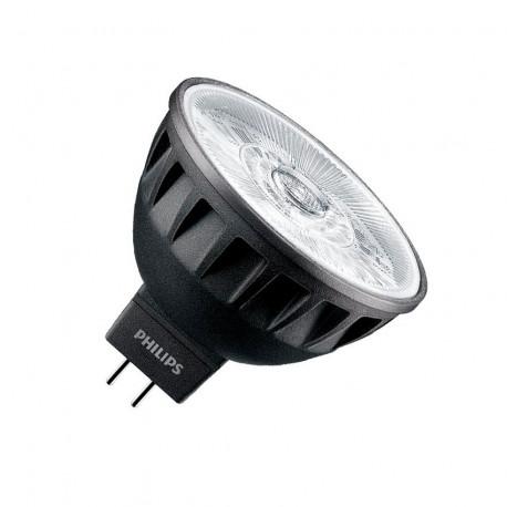 Moderne Ampoule LED GU5.3 MR16 Philips 12V CRI 92 ExpertColor 7.5W 36º Black XR-57