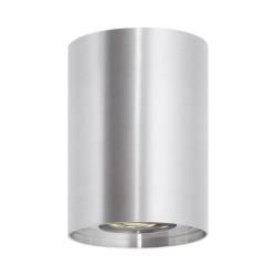Plafonnier Cuarzo Aluminium Argenté