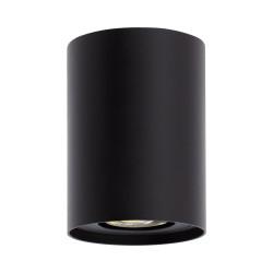 Plafonnier Cuarzo Aluminium Noir