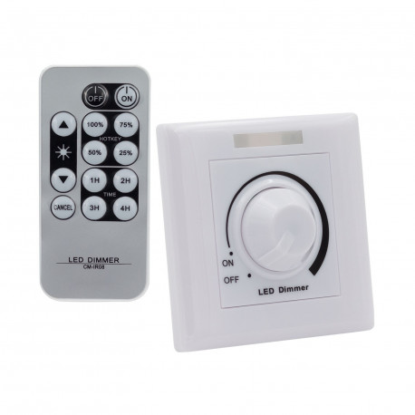Power dimmer LED 1-10V with IR Remote control