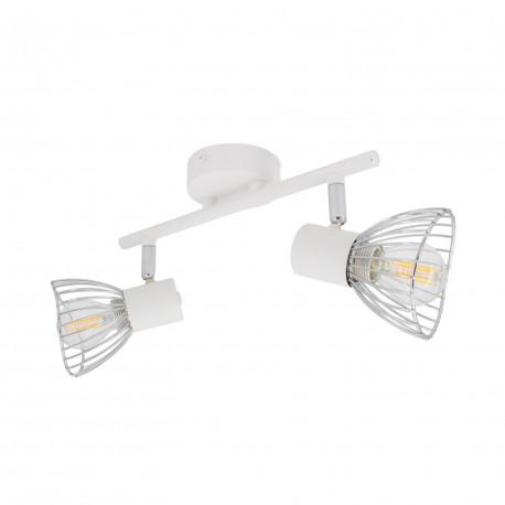 Ceiling lamp Adjustable Saban 2 Spots White