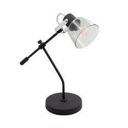 Lampe de Bureau Réglable Tivo Noire