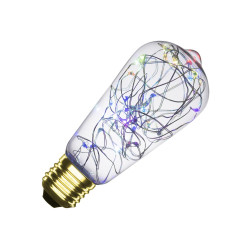 E27 LED bulb Dimmable Filament Lum Lemmon RGB ST58 1W