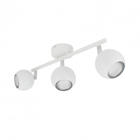 Ceiling lamp Adjustable Ates 3 Spots, White