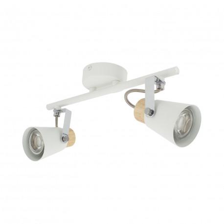 Ceiling lamp Adjustable Mara 2 Spots White