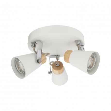 Ceiling lamp Round Adjustable Mara 3 Spots, White