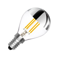 LED bulb E14 Dimmable Filament Reflect G45 3.5 W