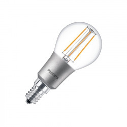 LED bulb E14 P45 Philips Dimmable Filament Luster CLA 4.5 W