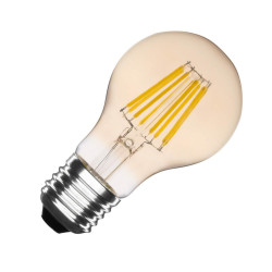 E27 LED bulb Dimmable Filament Gold Classic A60 6W