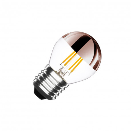 Ampoule LED E27 Dimmable Filament Copper Reflect G45 3.5W