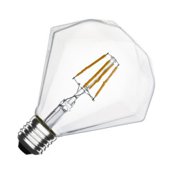 E27 LED bulb Dimmable Filament Diamond G105 3.5 W