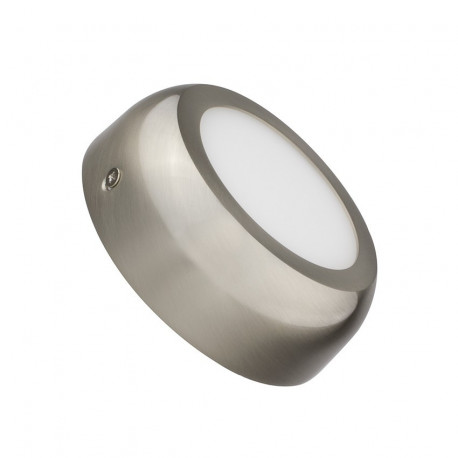 Silver Round Design 6W LED Surface Panel