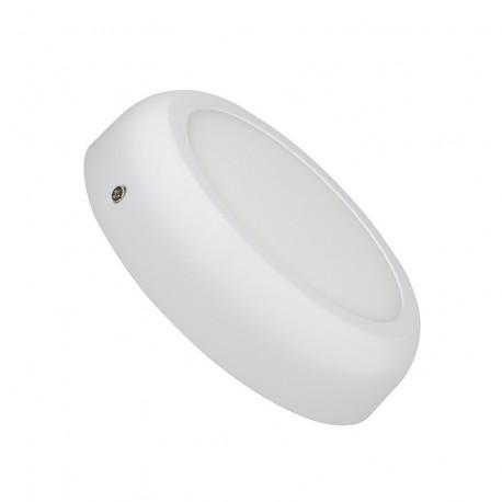 White Round Design 12W LED Surface Panel