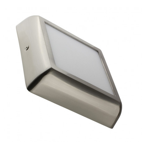 Silver Square Design 12W LED Surface Panel