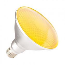 Ampoule LED E27 PAR38 15W Waterproof IP65 Lumière Orange