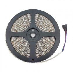 Ruban LED 12V DC SMD5050 60LED/m 5m RGB IP65
