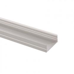 Profilé Aluminium en Saillie 1m pour Double Ruban LED 18,5mm