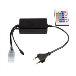Contrôleur Ruban LED RGB 220V UltraPower Télécommande IR 24 Touches