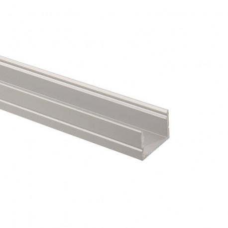 Aluminium profile 1m for Ribbons LED AC 220V Monochrome
