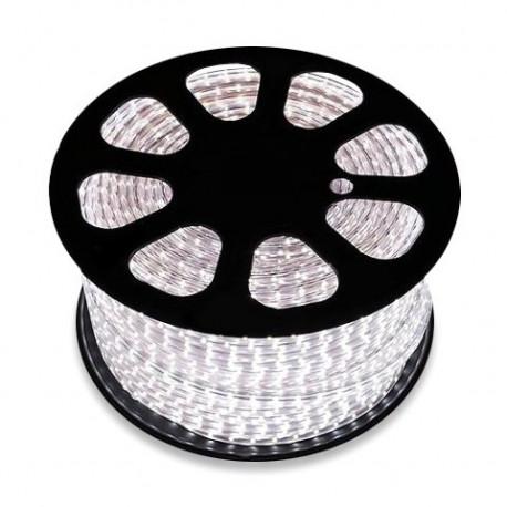 Bobine de LED 220V AC SMD5050 60 LED/m Blanc Neutre (50 Mètres)