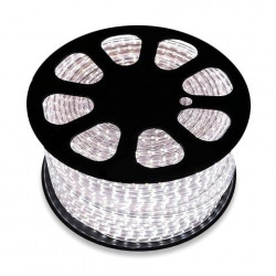 Bobine de LED 220V AC SMD5050 60 LED/m Rouge (50 Mètres)