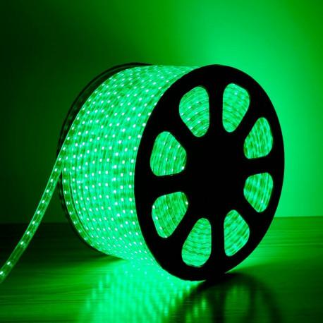 Coil LED 220V AC SMD5050 60 LED/m Green (50 Metres)