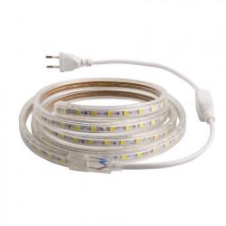 Ruban LED 220V AC SMD5050 60 LED/m 9 Mètres