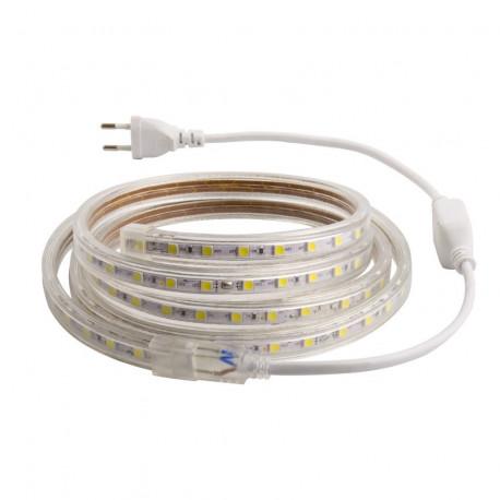 Ruban LED 220V AC SMD5050 60 LED/m 10 Mètres