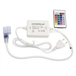 Contrôleur Gaine LED Néon RGB, Télécommande IR 24 Touches
