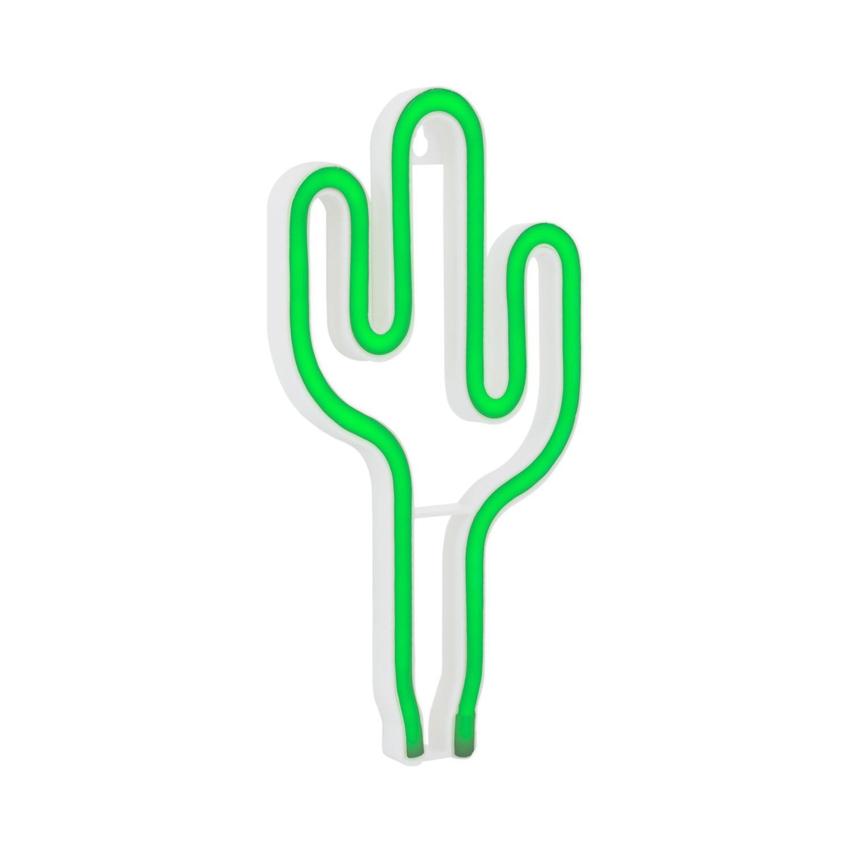 Neon De Decoration Interieur neon led cactus - planete leds