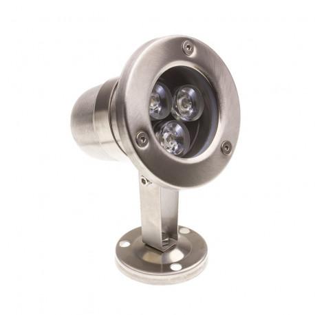 Spot LED Fixation au Sol RGB 12V 3W