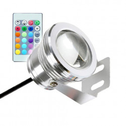 Spot LED Fixation au Sol RGB 12V 7W