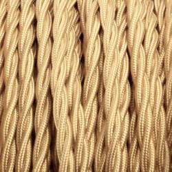 Câble Textile Tressé 4 couleurs au choix. De 1 à 100 mètres