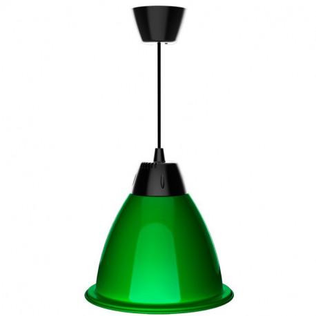 Cloche LED Verte Alabama 35W
