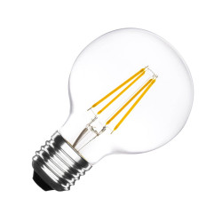 Ampoule LED E27 Dimmable Filament Globe G80 6W