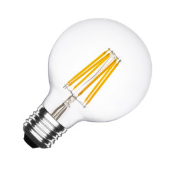 E27 LED bulb Dimmable Filament Planet G95 6W
