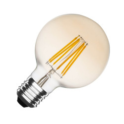 Ampoule LED E27 Dimmable Filament Planet Gold G95 6W