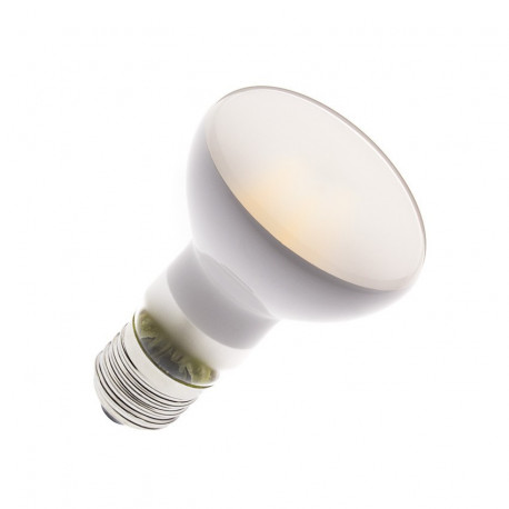 E27 LED bulb Dimmable Filament R63 Frost 6W