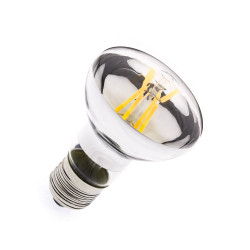 E27 LED bulb Dimmable Filament R63 6W
