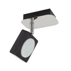 LED wall Wall Adjustable Capri 1 Spot 6W Black