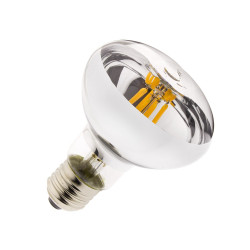 E27 LED bulb Dimmable Filament R80 6W