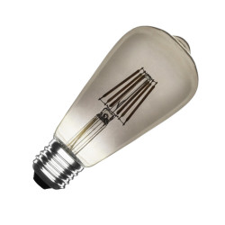 Ampoule LED E27 Dimmable Filament Smoke Lemon ST58 5.5W