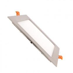Slab LED Square Extra Flat LED 15W Silver Frame