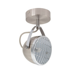 Wall Sconce Adjustable Izga 1 Spot Silver