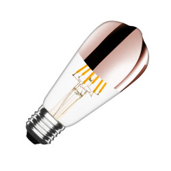 Ampoule LED E27 Dimmable Filament Copper Reflect Big Lemon ST64 7.5W