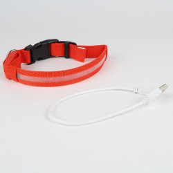USB chargeableLED Collar for Dogs